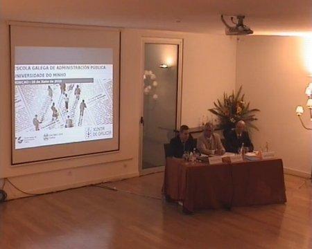 Clausura do seminario. Grabación lado presentación - Seminario luso-galaico de dereito local. Dereito do Urbanismo